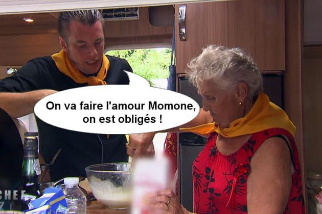 Norbert : On va faire l'amour Momone, on est obligé !