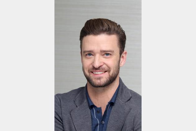 Justin Timberlake avec une barbe