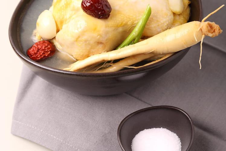 Samgyetang - Soupe de poulet au ginseng