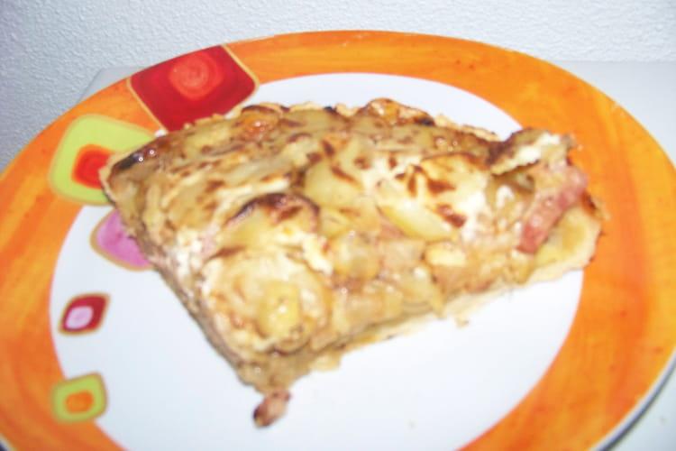 Tarte endives/fromage à raclette