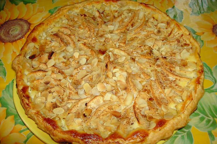 Tarte aux pommes alsacienne