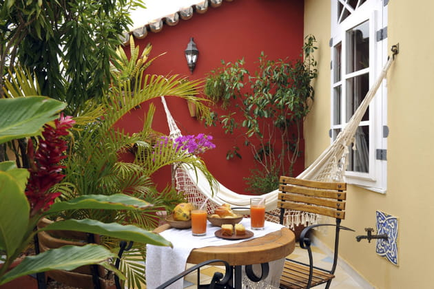 L'hôtel Villa Bahia à Salvador de Bahia