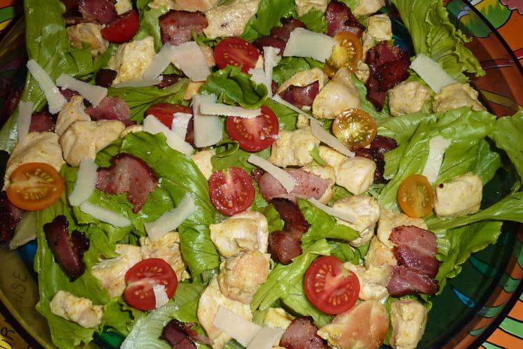 Recette salade au poulet c sar salade poulet - Recette salade cesar au poulet grille ...