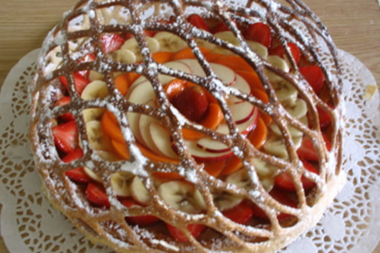 Tarte en lorgnette aux fruits du moment