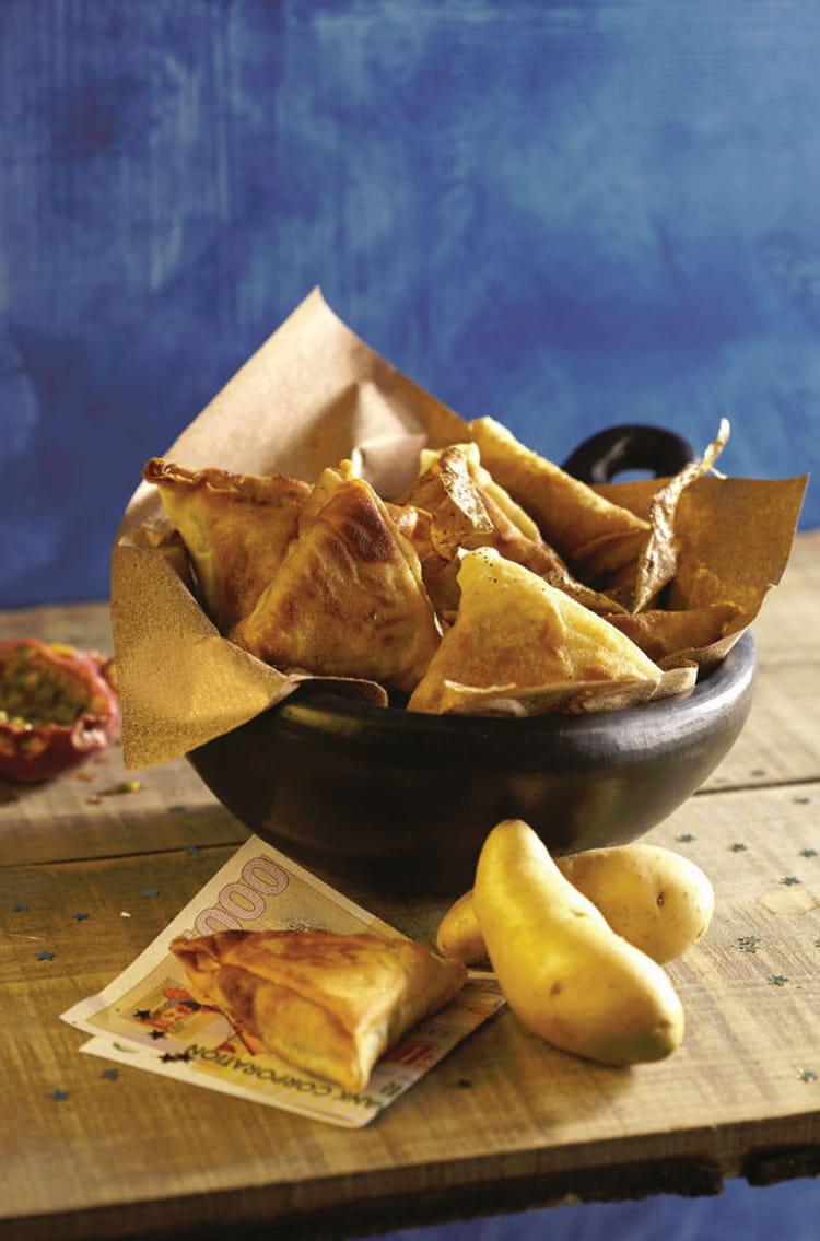 Recette de samossas de ratte du touquet la recette facile - Cuisiner la ratte du touquet ...