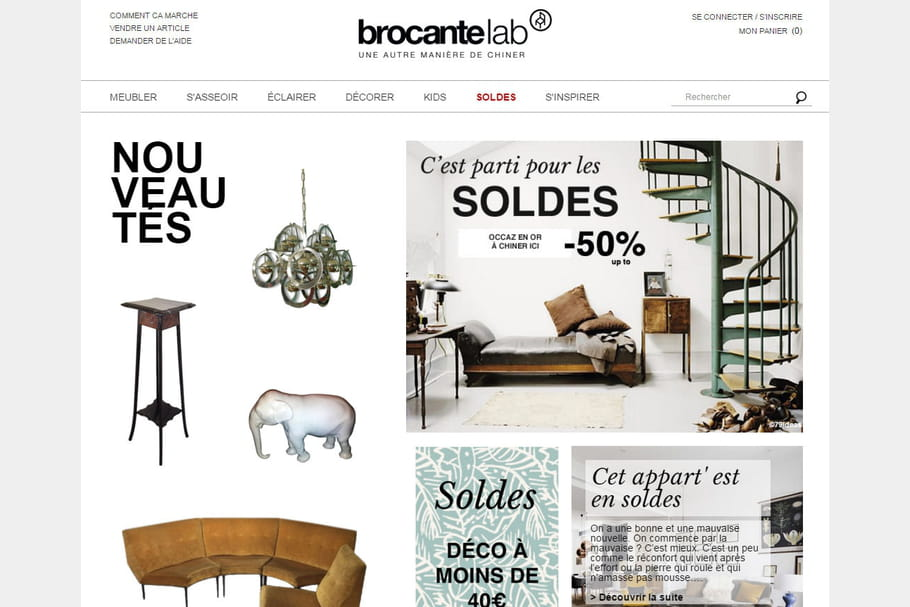 13 brocantes en ligne pour chiner sur le web. Black Bedroom Furniture Sets. Home Design Ideas