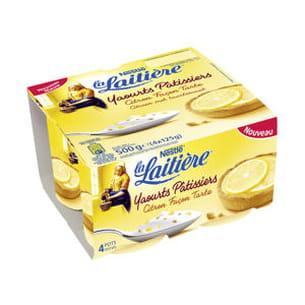 yaourts pâtissiers de la laitière