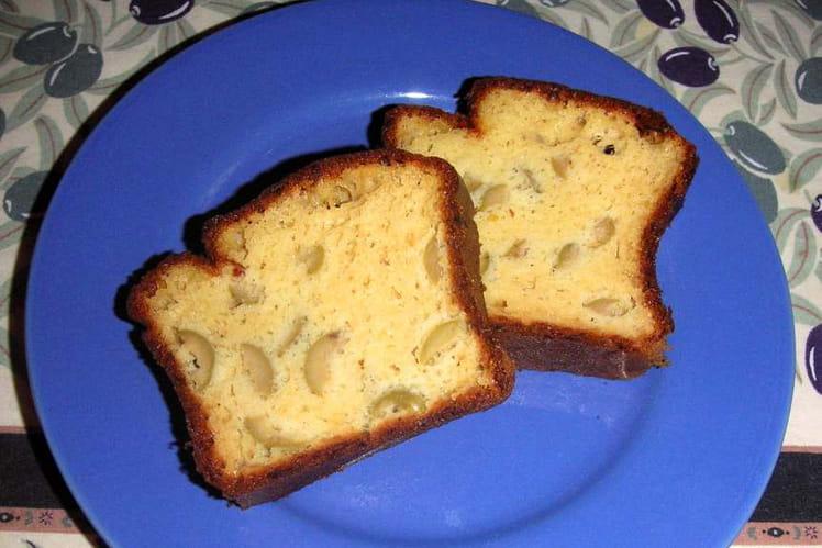 Cake aux olives