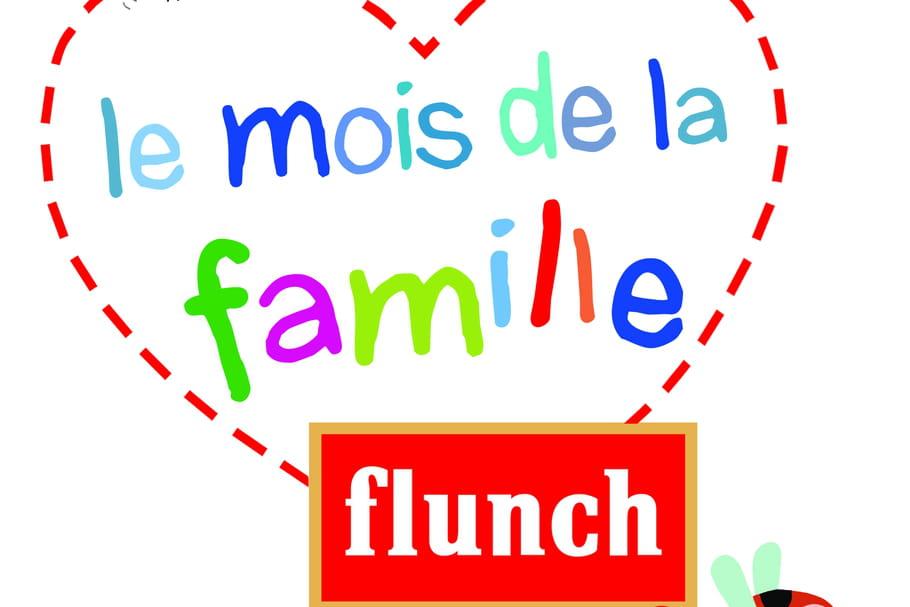 Flunch : opération Mois de la famille