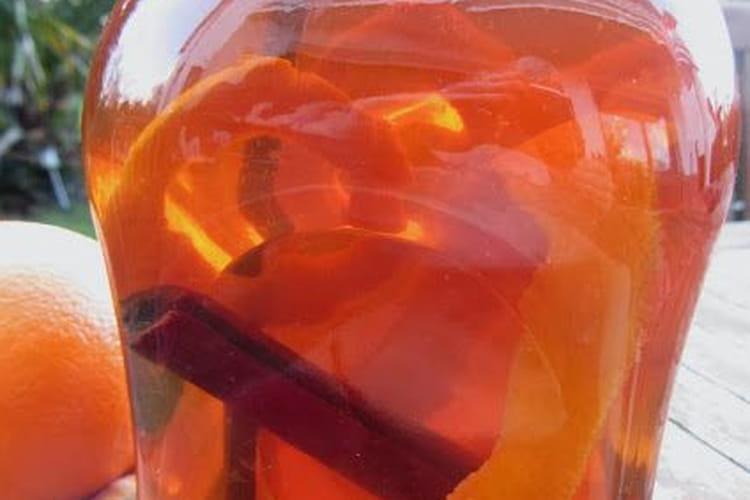 Rhum arrangé orange et cannelle