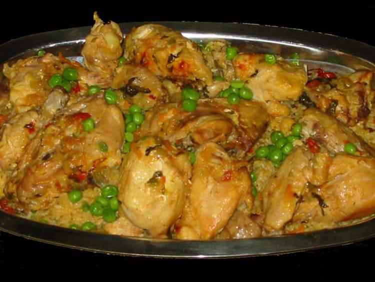 Recette de poulet au riz la recette facile for Ideas para comidas caseras
