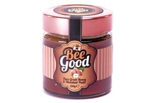 pâte à tartiner au miel et noisettes beegood