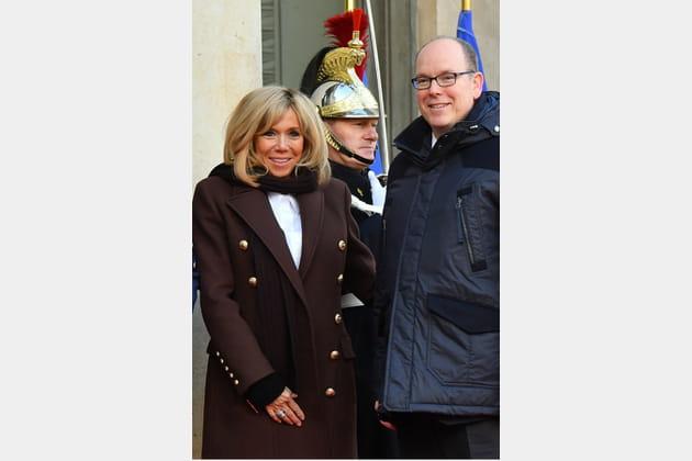 Brigitte Macron le 12décembre 2017