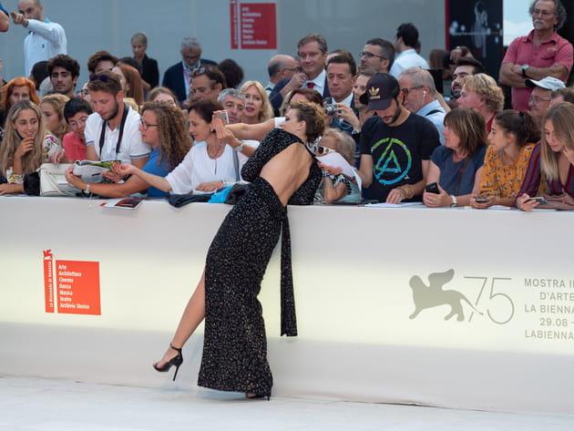 Céline Sallette, en reine au Festival de Venise