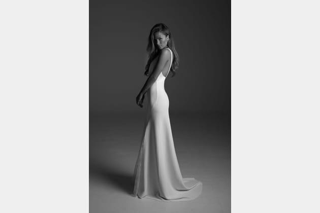 Robe de mariée Meara, de dos