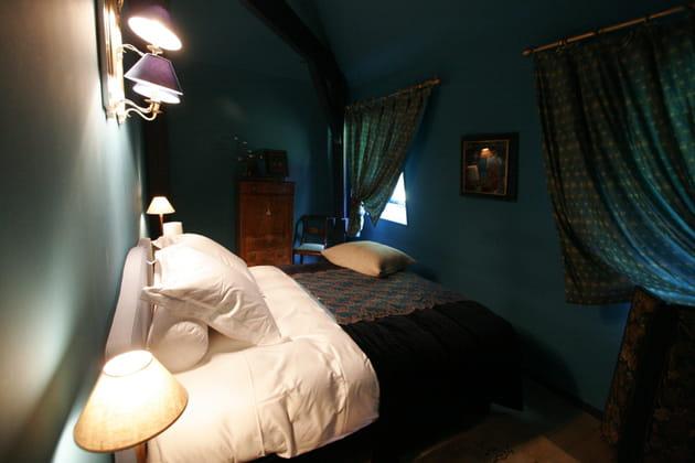 Une chambre aux allures d'alcôve
