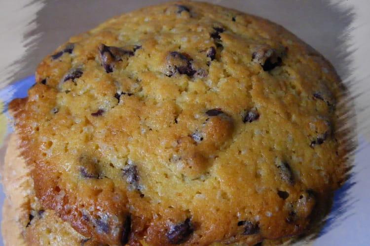 Vrais cookies américains aux pépites