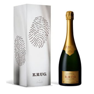 champagne krug par christofle