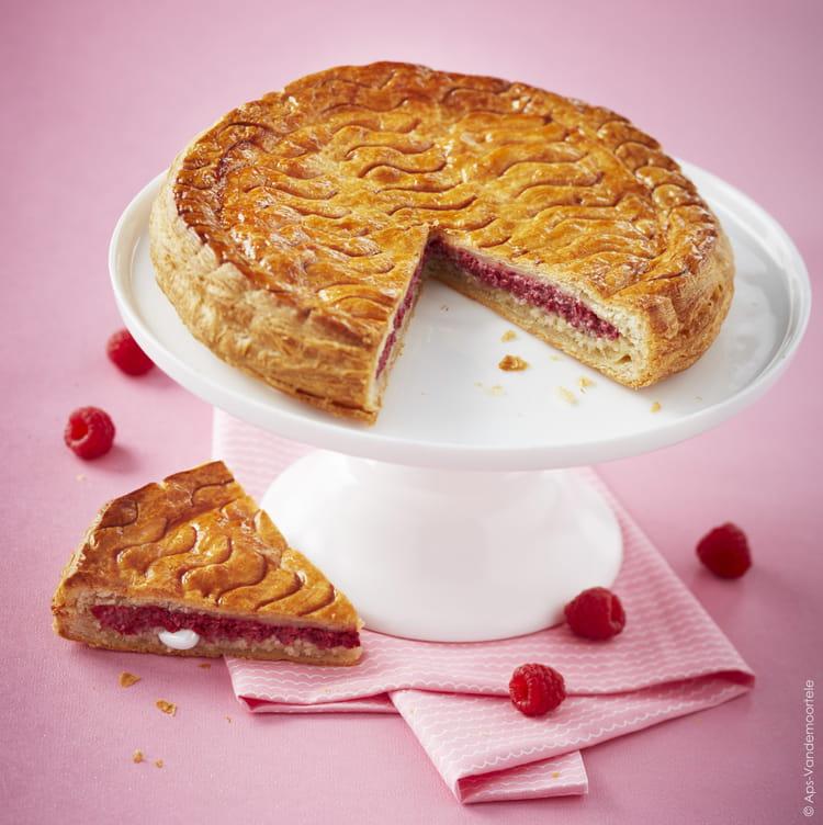Recette de galette des rois la framboise la recette facile - Recette facile galette des rois ...