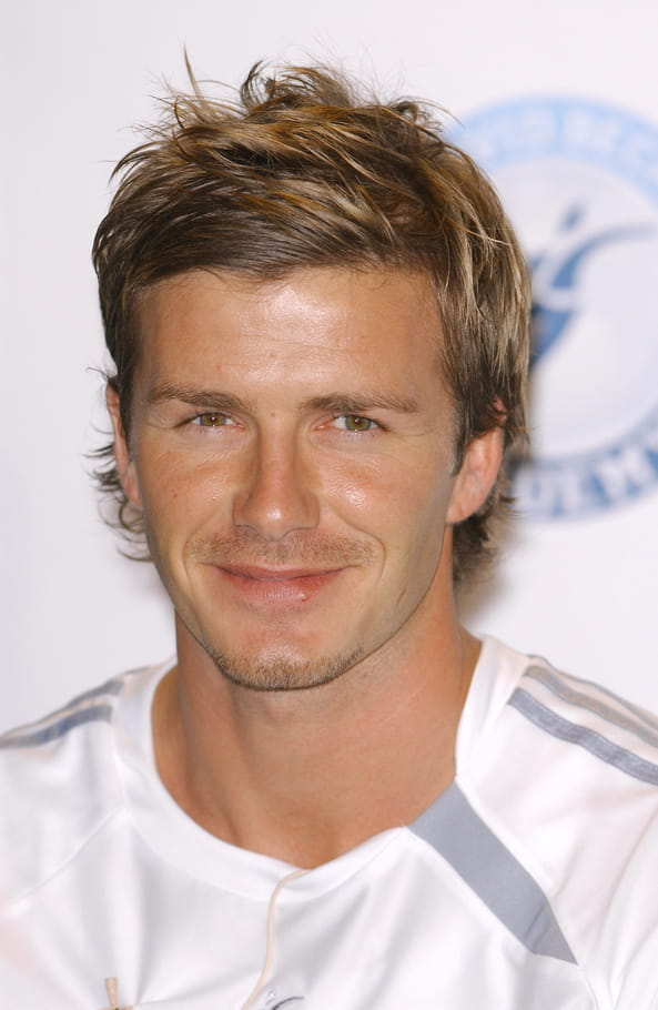 David Beckham sans barbe