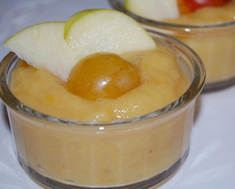 Recette de compote pommes mirabelles la recette facile - Recette avec des mirabelles ...