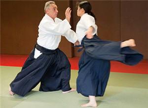 l'aïkido vous apprend à ne plus avoir peur du conflit et de l'affrontement. un