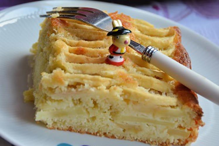 Gâteau des rois aux pommes et amandes