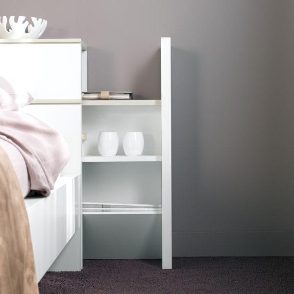 T te de lit intelligente - Lit cache dans meuble ...