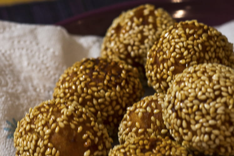 Gâteau aux graines de sésame Gato zinzi