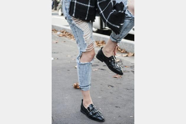 Opter pour des chaussures plates