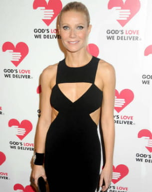 gwyneth paltrow s'engage aussi pour barack obama. ici aux god's love we deliver