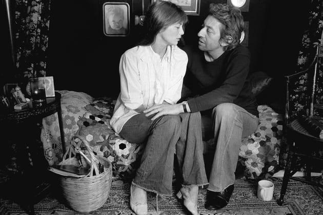 Jane et Serge, chez eux, rue de Verneuil