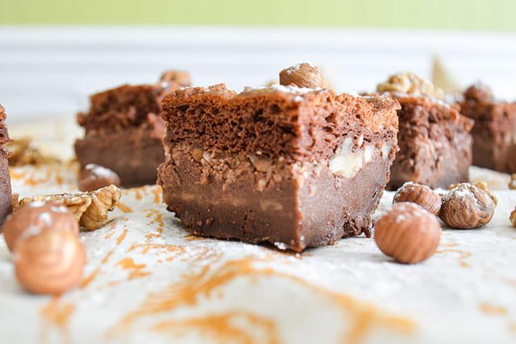 Brownie façon gâteau magique