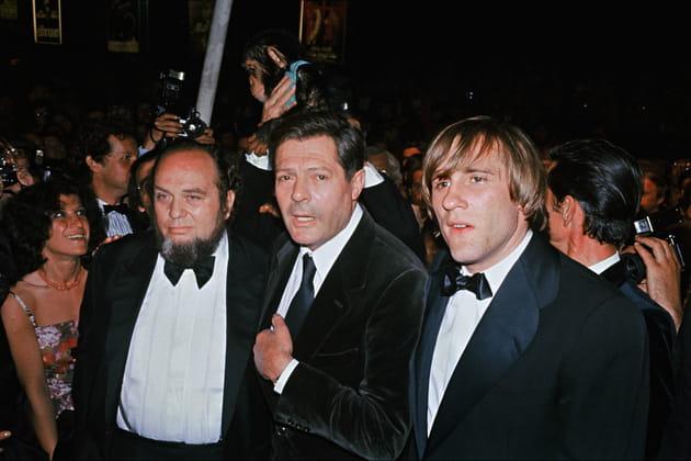 Marcello Mastroianni, Marco Ferreri et Gérard Depardieu