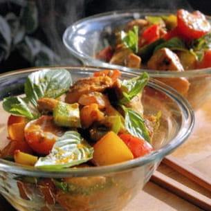 curry multicolore