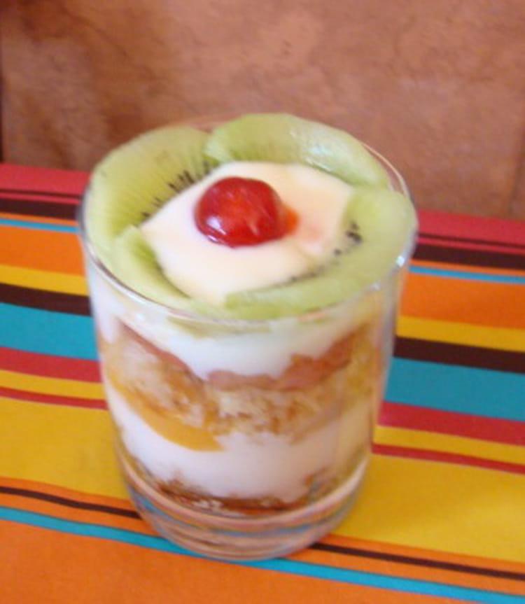 Verrine ambassadeur aux fruits for Dessert aux fruits en verrine