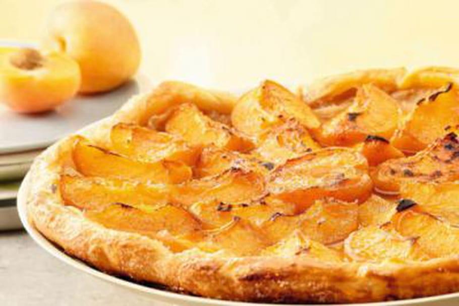 Comment confectionner belle tarte abricots