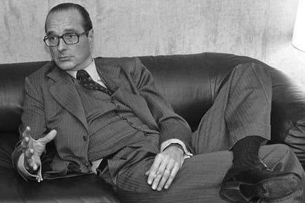 Jacques Chirac, chef de l'opposition