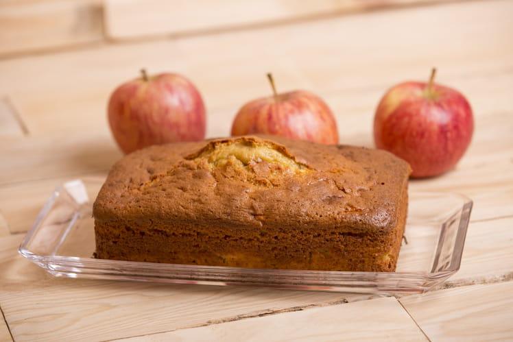 Cake aux pommes fondant