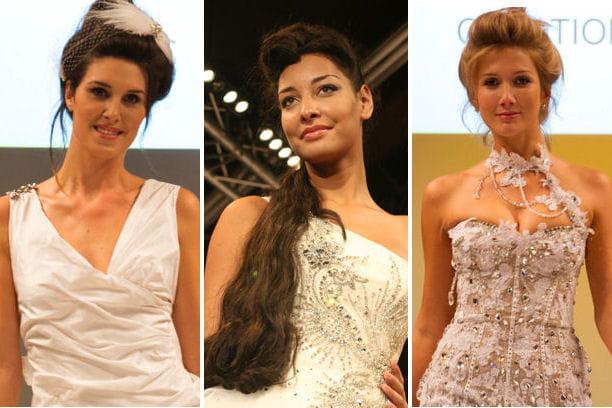 Coiffures de mariées 2013: zoom sur le salon du Mariage et du Pacs