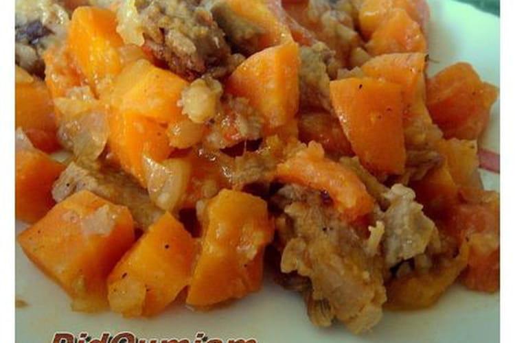 Veau aux carottes à l'ancienne