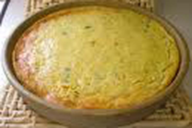 Pudding au pain et ananas