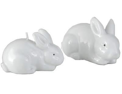 bougies 'lapins blancs' d'amadeus