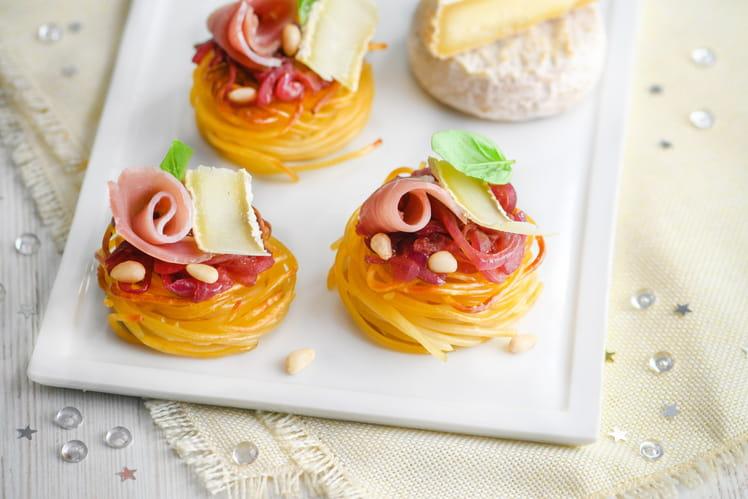 Pasta cocoons au Picodon AOP