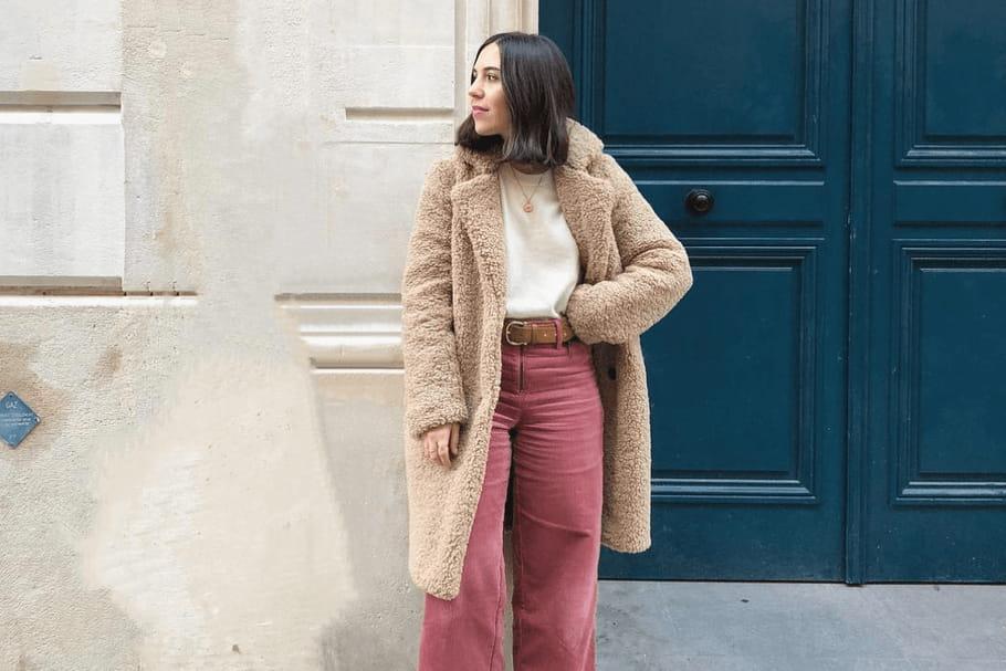 Le look blogueuse de la semaine: Margaux Slv cocooning en couleur
