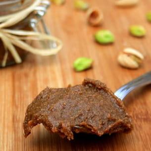 pâte de pistaches maison