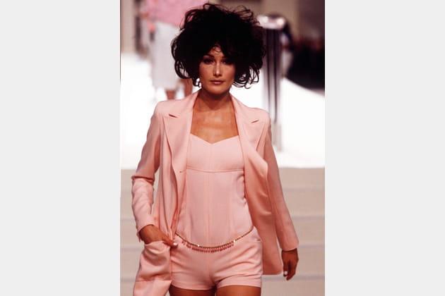 Carla Bruni en 1996