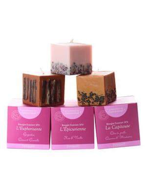 les bougies spa parfumées de feniqia