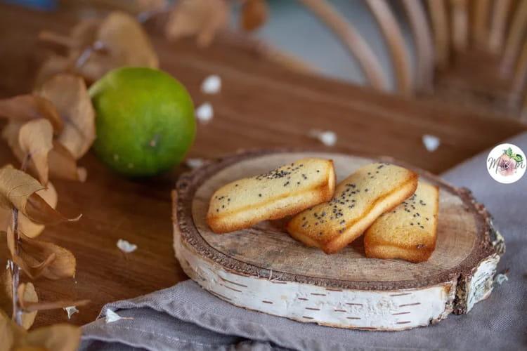 Mini financiers citron et graines de pavot