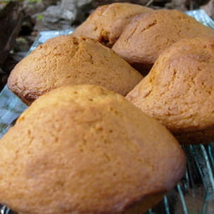 madeleines au caramel au beurre salé